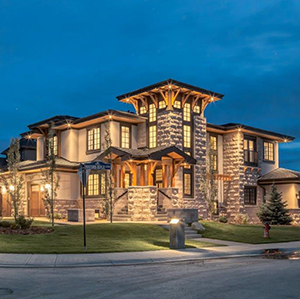 Luxury, craft built home